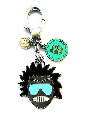 NEU George Gina Lucy Schlüsselring Keyrings *Key2ROCK* chocolate Taschenanhänger