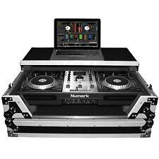 ProX XS-MIXDECKWLT Numark Mixdeck Quad & Pioneer XDJ-R1 Flight Case/Laptop Shelf