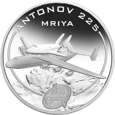 Cook Islands 2008 $1 Antonov An-148 Colt 1 Oz Silver Proof Coin