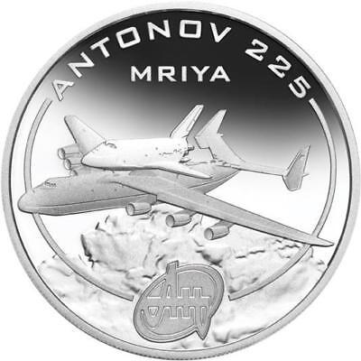 Cook Islands 2008 $1 Antonov An-225 Colt 1 Oz Silver Proof Coin