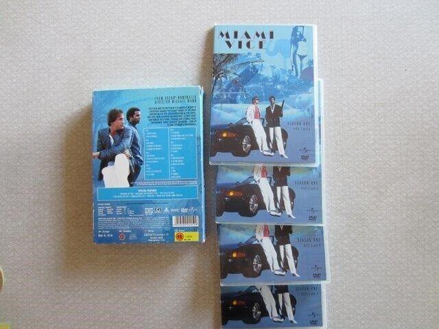 Miami Vice, DVD, krimi