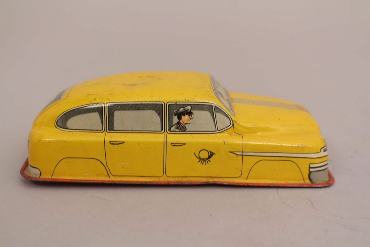 Hammerer Cooling Wine Post Car hk-569 Tin Car Western Germany Tin Toy