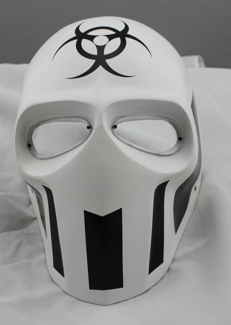 PC Lens Mask Paintball Airsoft Full Face Prossoection Skull Mask Prop M0785