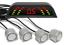 GRIS FALCON 2630-4 KIT 4 Sensores Aparcamiento PARKTRONIC Parking System NEGRO
