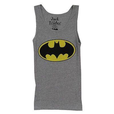Batman Logo DC Comics Licensed Premium Tank Top Woman Junior Undershirt S-XL