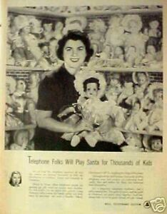 1951-Bell-Telephone-Operators-Christmas-Toy-Dolls-AD