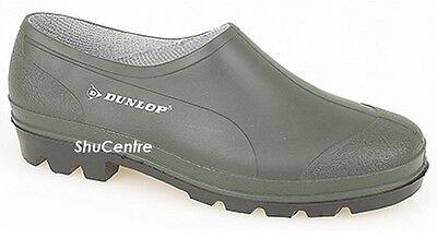 La Lluvia Impermeable jardinería Zapatos Zuecos Jardín Dunlop Verde De Caucho de verano más