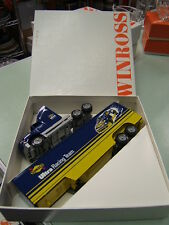 Winross Sunoco Ultra 94 Racing Terry Labonte Ford Hagan Transporter VGC
