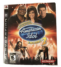 Karaoke Revolution Presents American Idol Encore 2 Game Only For Playstation 3e For Sale Online Ebay