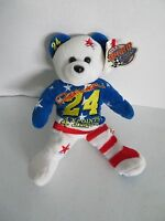 Nascar Jeff Gordon 24 Team Speed Bears 4x Points Champion 2001 & Numbered