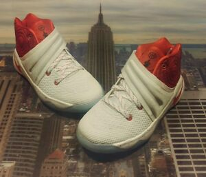 fb0d282d93d8 Nike Kyrie 2 Touch Factor White Red PS PreSchool Size 11c Irving 1 ...