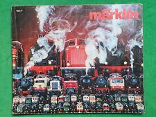 MÄRKLIN HO CATALOGUE 1981 1982 MODELISME FERROVIAIRE TRAINS ELECTRIQUES
