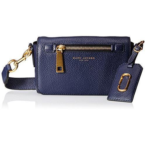 a2f643f5f014 Marc Jacobs Gotham City Cross Body Bag Midnight Blue Textured Leather Flap  for sale online