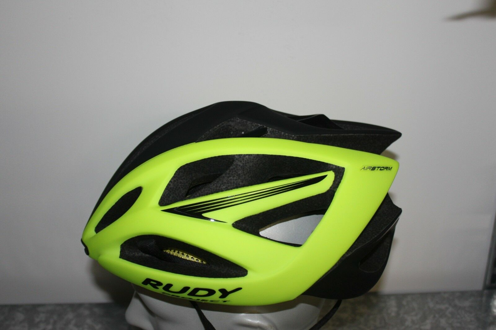 Rudy Project Airstorm Radhelm - Yellow matte Size L 59-61 cm