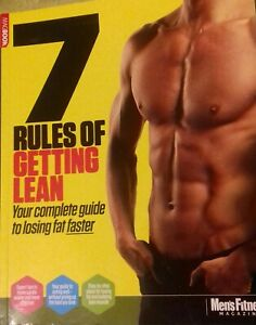 Details About Mens Fitness Rules Of Getting Lean 7 Complete Guide To Losing Fat Magazine New