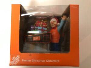 THE HOME DEPOT CHRISTMAS ORNAMENT ~ 2013 HOMER PUSHING ...