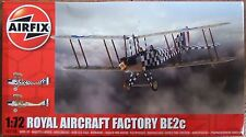 AIRFIX 1/72 ROYAL AIRCRAFT FACTORY BE2c WWI kit A02104 *NEW*