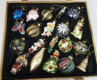 THOMAS PACCONI CLASSICS 2006 CHRISTMAS ORNAMENTS 20 PC SET IN CRATE BOX COA - Christmas Collection On EBay!