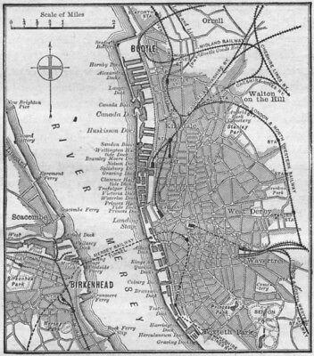 MAP ANTIQUE 1898 KONONOVA TOMSK CITY PLAN CYRILLIC REPLICA POSTER PRINT PAM2002