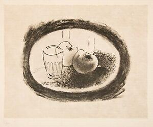 George Braque, Lithograph Still Life on Arches Vellum, 52/300