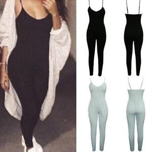 Women-Ladies-Clubwear-Playsuit-Bodycon-Party-Jumpsuit-Trousers