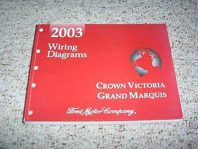 2003 Mercury Grand Marquis Electrical Wiring Diagram Manual Gs Ls 4 6l V8 Ebay