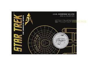 1-Dollar-Star-Trek-U-S-S-Enterprise-NCC-1701-Tuvalu-1-oz-Silber-Blister-2016