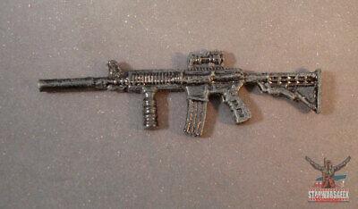 "WEA049 custom weapon gun cast use with 3.75/"" GI Joe Marvel figures"