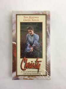 Christy-VHS-The-Hostage-Green-Apples-1995-SEALED-Huddleston-Catherine-Marshall