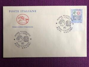 FDC-Cavallino-Italia-Repubblica-2005-034-Alti-Valori-da-1-00-034