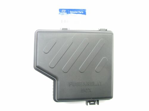 NEW GENUINE Engine Compartment Upper Fuse Box Cover OEM For 2010-2012 Santa Fe