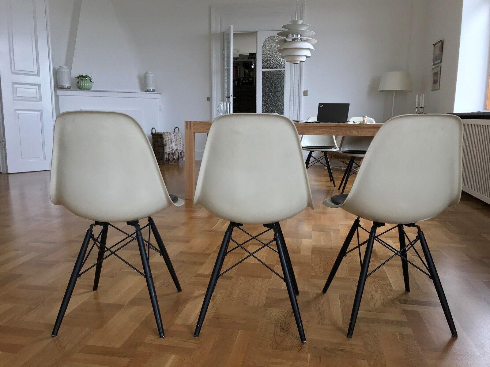 Eames, stol, DSW glasfiber