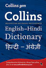 Collins Gem: Collins Gem English-Hindi/Hindi-English Dictionary by HarperCollins Publishers (Paperback, 2011)