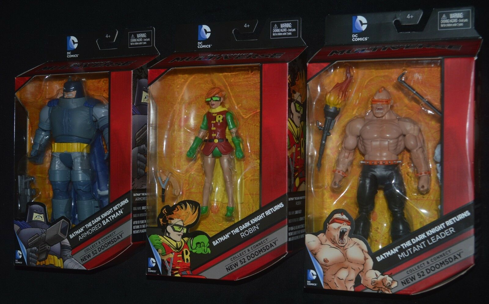 läderlappen Den Mörke Riddaren returnerar 3 W Robin och Mutant Leader DC Multipass