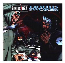 """GZA / GENIUS - LIQUID SWORDS - 2X 12"""" VINYL LP RECORD - SEALED & MINT / WU-TANG"""