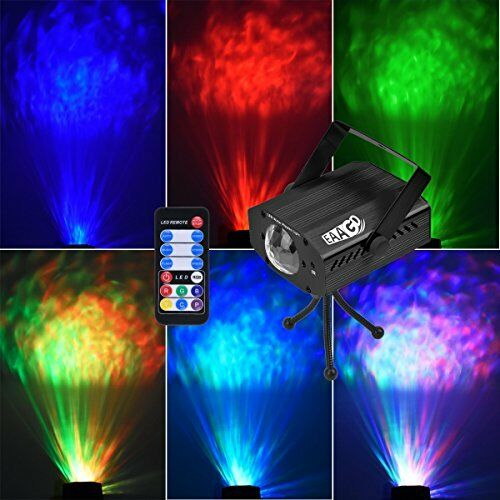 Eaagd Party Strobe Lights 7 Color Ocean Wave Projector Stage Halloween Christma Ebay
