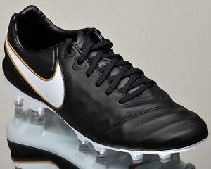Nike Tiempo Legacy Ii Fg 2 Herren Fußball Stollen Schwarz Gold 819218-010 Billigverkauf 50% Sneaker