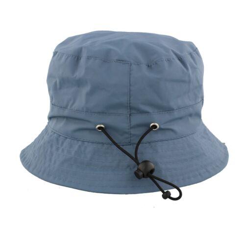 Adjustable Bucket Rain Hat From Whiteley Fischer C502 Red//Black//Navy//Olive//Wine