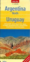 Map Of Argentina, North, & Uruguay, By Nelles Map