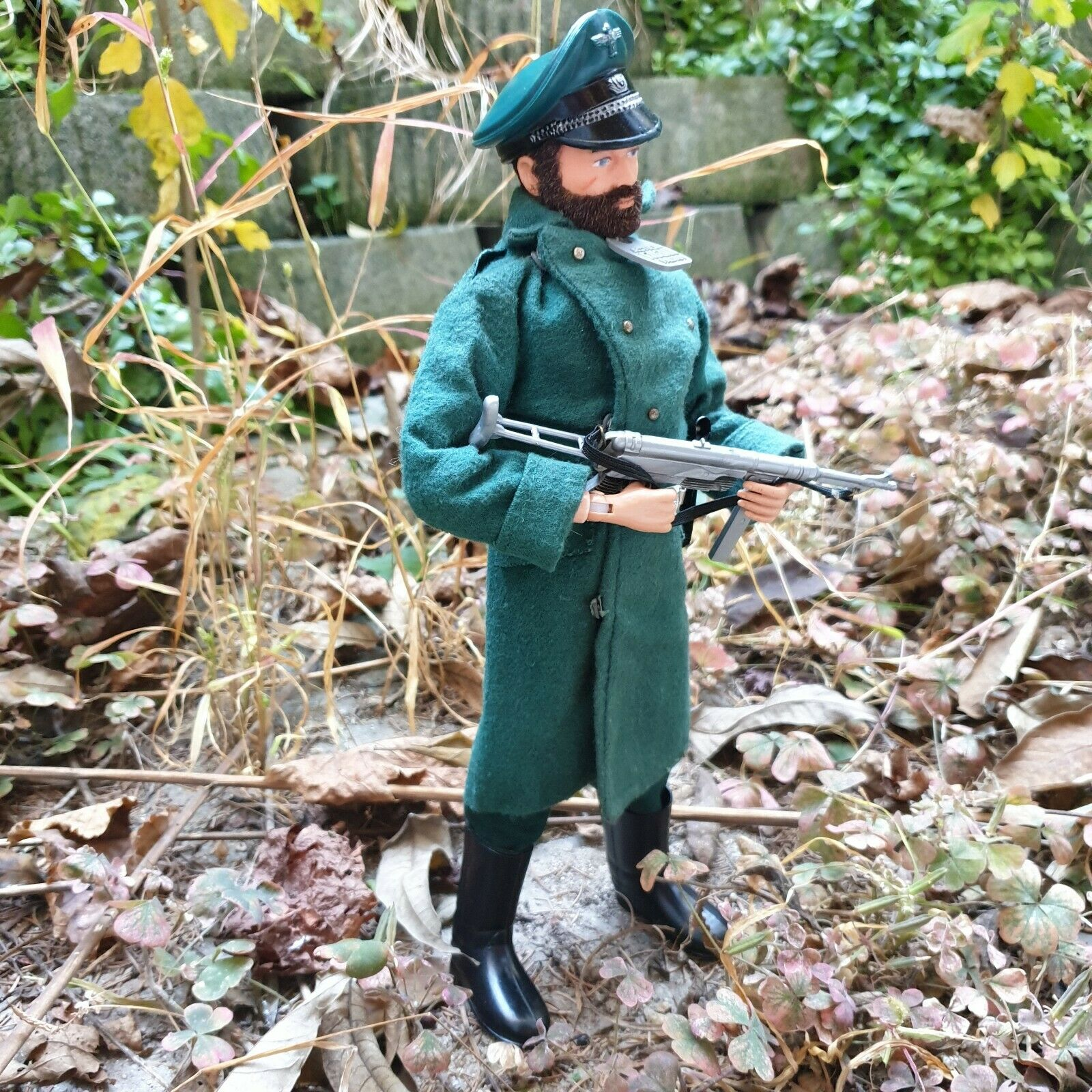 Gi joe vintage 1964 AM talking German Camp Commandant WW2 rare