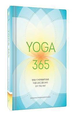 1 of 1 - Yoga 365: Daily Wisdom for Life, On and Off the Mat, Harwood Rubin, Susanna, Ver