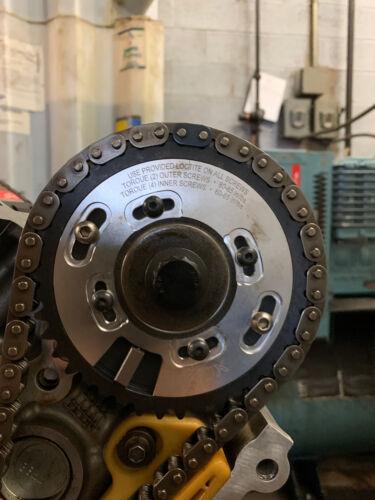 OBX Adj Sprocket Cam Gear 96 97 98 99 00 01 02-04 Mustang 4.6L 2.4V Silver 2PCS