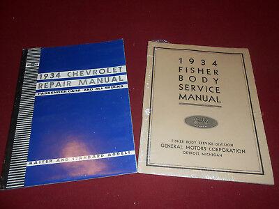 1933-1934 Buick Body Repair Manual 33 34 Shop Service Book