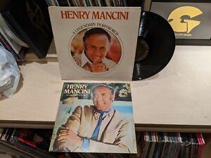 HENRY MANCINI A LEGENDARY PERFORMER LP 1976 RCA RECORDS CPL1-1843