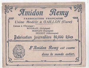 Buvard - Amidon Remy Usine à Gaillon, Eure - (réf. 64/33) Hcoannmj-08000324-852050791