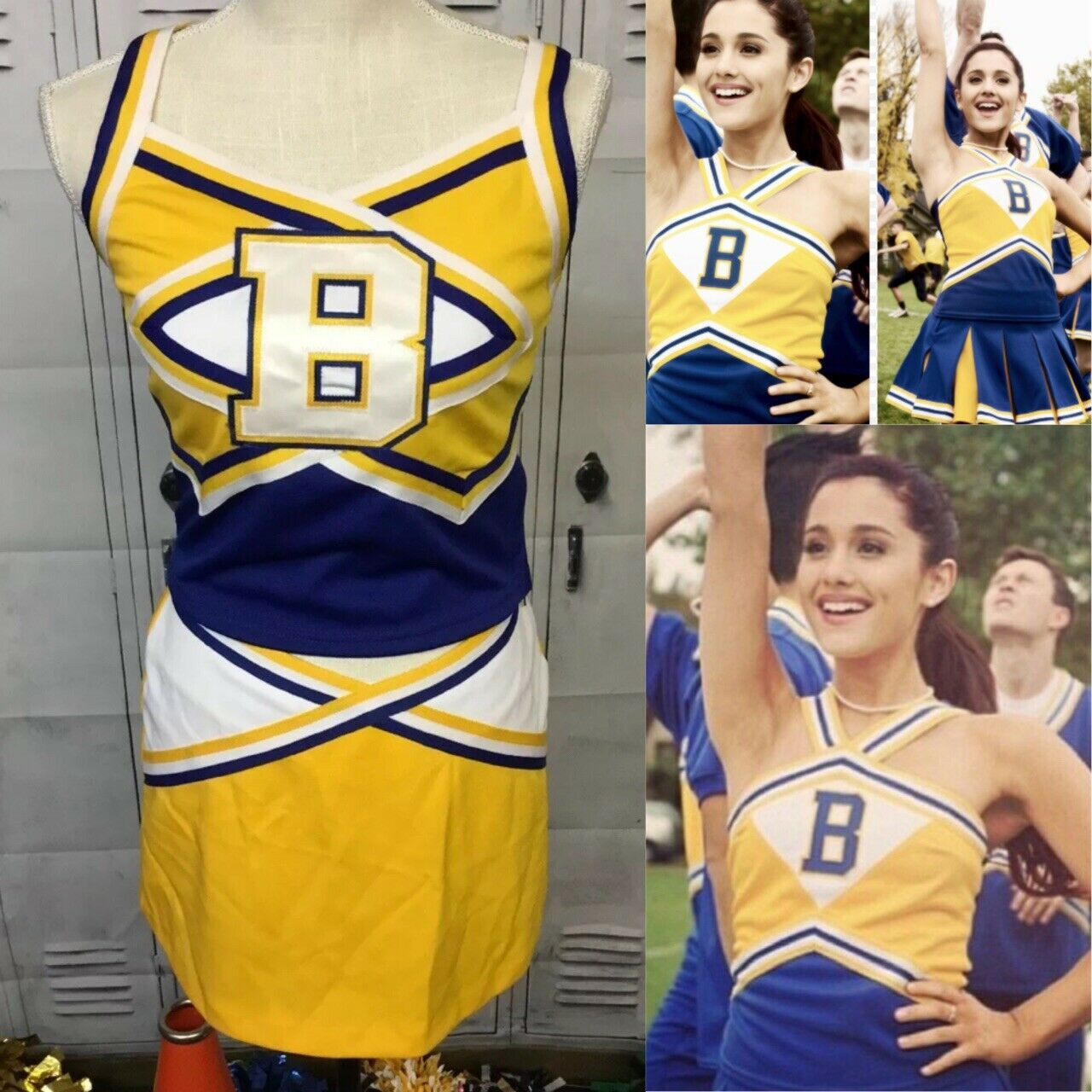 Real  Cheerleading Uniform Vintage Adult S  just for you