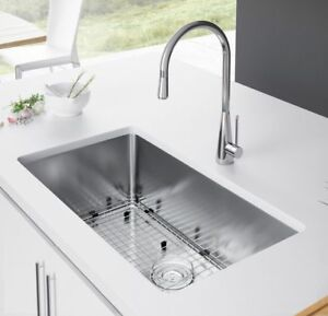 Small Radius Ss Single Bowl Undermount Kitchen Sink 27 X 18 X 9 Ebay