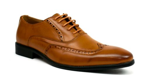 Mens Brogues  Lace Up casual Formal smart office work Shoes UK Size 6-12