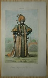 1840 print SULTAN SULEYMAN THE MAGNIFICENT (#13)