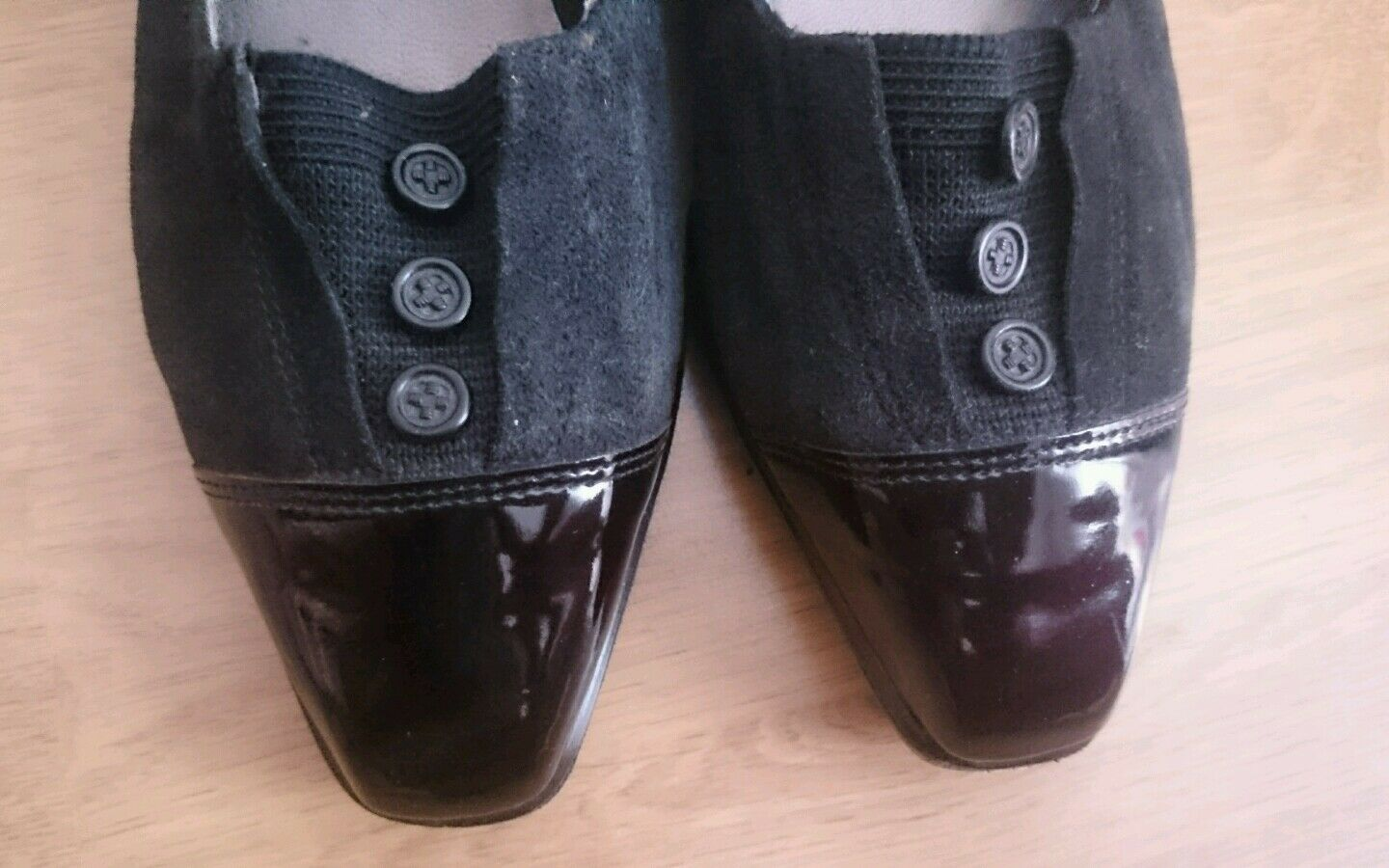 SALAMENDER chaussures Taille 38 (5 F) 1mal boisson.